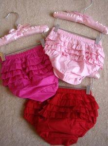 2X Hautie pants baby BLOOMERS ruffle bottoms S M